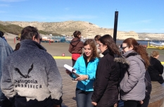 Stephanie Stefanski surveyed over 400 Argentine visitors to the Peninsula Valdes World Heritage Site in Patagonia, Argentina for her Master's thesis at the Yale School of Forestry & Environmental Studies